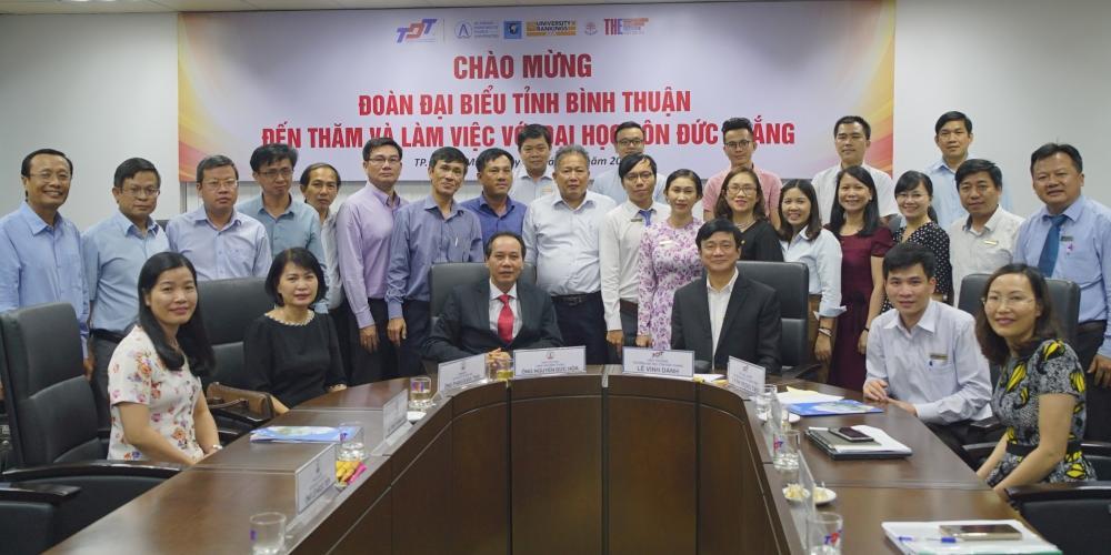 Sơ kết việc thực hiện Thỏa thuận hợp tác toàn diện với Tỉnh Bình Thuận