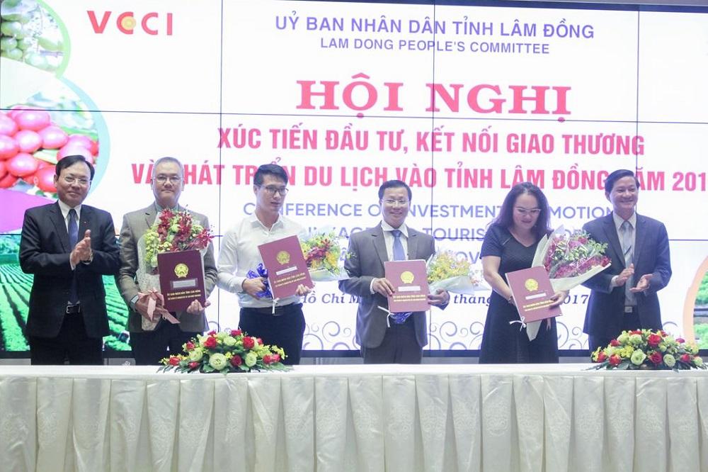 Hội nghị xúc tiến đầu tư, kết nối giao thương và phát triển du lịch Tỉnh Lâm Đồng năm 2017